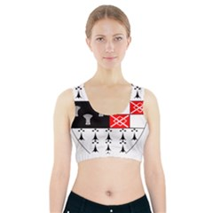 County Kilkenny Coat Of Arms Sports Bra With Pocket
