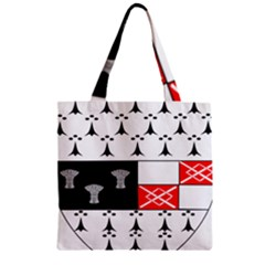 County Kilkenny Coat Of Arms Zipper Grocery Tote Bag by abbeyz71