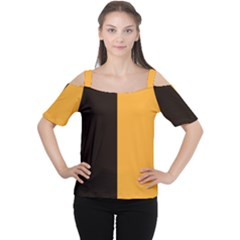 Flag Of County Kilkenny Women s Cutout Shoulder Tee by abbeyz71