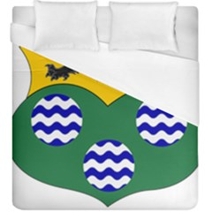 County Leitrim Coat Of Arms  Duvet Cover (king Size) by abbeyz71