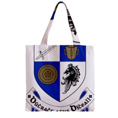 County Monaghan Coat Of Arms Zipper Grocery Tote Bag by abbeyz71