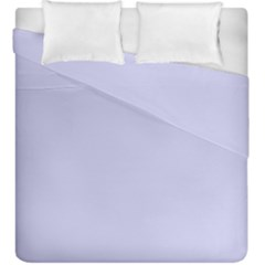 Pastel Color   Light Bluish Gray Duvet Cover Double Side (king Size) by tarastyle