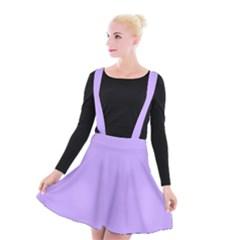 Pastel Color   Pale Blue Violet Suspender Skater Skirt by tarastyle
