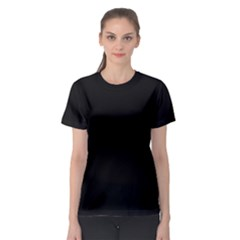 Black Gothic Women s Sport Mesh Tee by Costasonlineshop
