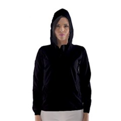 Black Gothic Hooded Wind Breaker (women) by Costasonlineshop
