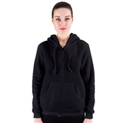 Black Gothic Women s Zipper Hoodie by Costasonlineshop