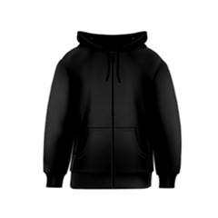 Black Gothic Kids  Zipper Hoodie by Costasonlineshop