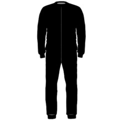 Black Gothic OnePiece Jumpsuit (Men)  by Costasonlineshop