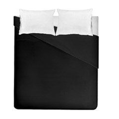Black Gothic Duvet Cover Double Side (full/ Double Size) by Costasonlineshop