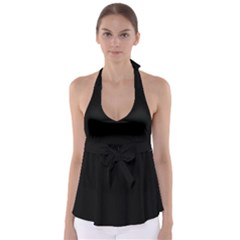 Black Gothic Babydoll Tankini Top by Costasonlineshop