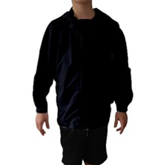Black Gothic Hooded Wind Breaker (Kids) by Costasonlineshop