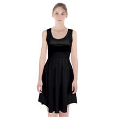Black Gothic Racerback Midi Dress by Costasonlineshop