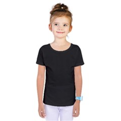 Black Gothic Kids  One Piece Tee by Costasonlineshop