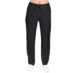 Black Gothic Drawstring Pants by Costasonlineshop