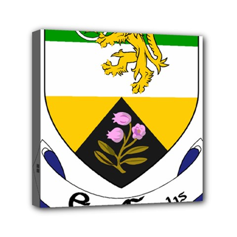 County Offaly Coat Of Arms  Mini Canvas 6  X 6  by abbeyz71