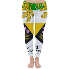 County Offaly Coat Of Arms  Classic Winter Leggings by abbeyz71