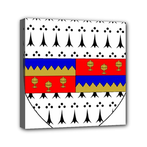 County Tipperary Coat Of Arms  Mini Canvas 6  X 6  by abbeyz71
