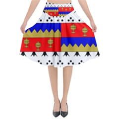 County Tipperary Coat Of Arms  Flared Midi Skirt