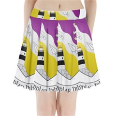 County Wexford Coat Of Arms  Pleated Mini Skirt by abbeyz71