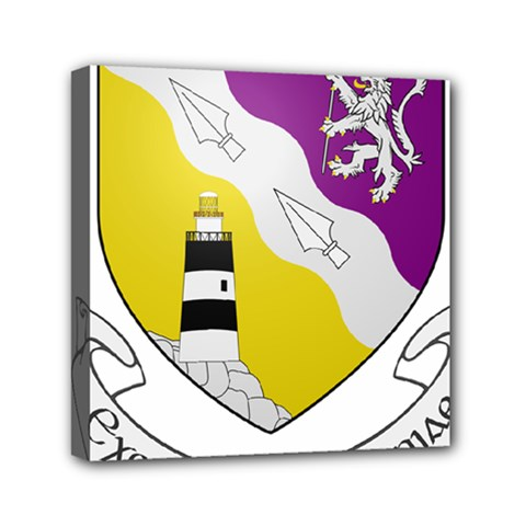 County Wexford Coat Of Arms  Mini Canvas 6  X 6  by abbeyz71