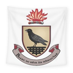 County Dublin Coat Of Arms  Square Tapestry (large) by abbeyz71