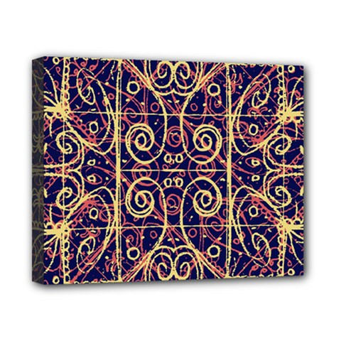 Tribal Ornate Pattern Canvas 10  X 8  by dflcprints