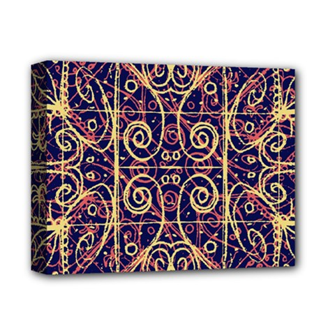 Tribal Ornate Pattern Deluxe Canvas 14  X 11  by dflcprints