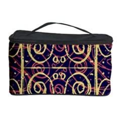 Tribal Ornate Pattern Cosmetic Storage Case