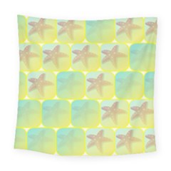 Starfish Square Tapestry (large) by linceazul