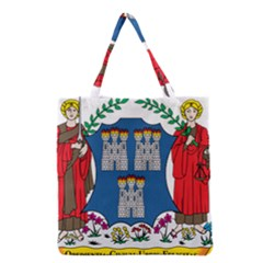 City Of Dublin Coat Of Arms Grocery Tote Bag by abbeyz71