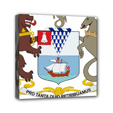 Coat Of Arms Of Belfast  Mini Canvas 6  X 6  by abbeyz71