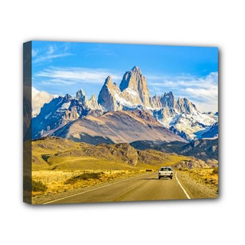 Snowy Andes Mountains, El Chalten, Argentina Canvas 10  X 8  by dflcprints