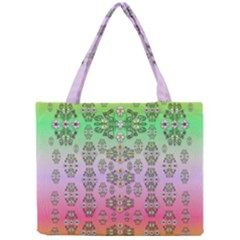 Summer Bloom In Festive Mood Mini Tote Bag by pepitasart