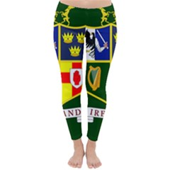 Flag Of Ireland National Field Hockey Team Classic Winter Leggings by abbeyz71