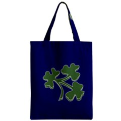 Flag Of Ireland Cricket Team Zipper Classic Tote Bag by abbeyz71