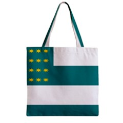 Flag Of Fenian Brotherhood Zipper Grocery Tote Bag by abbeyz71