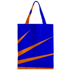 Sunburst Flag Zipper Classic Tote Bag by abbeyz71
