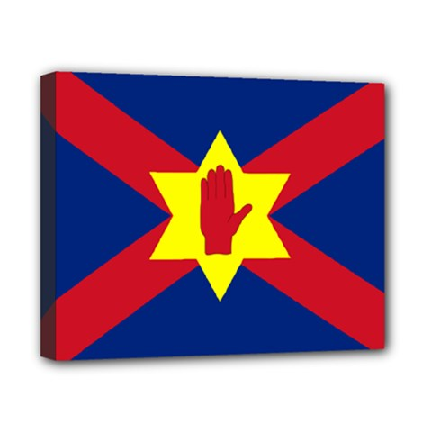 Flag Of The Ulster Nation Canvas 10  X 8  by abbeyz71