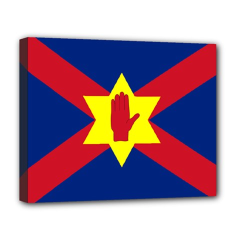 Flag Of The Ulster Nation Deluxe Canvas 20  X 16   by abbeyz71