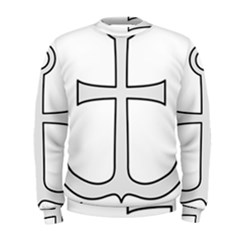 Anchored Cross Men s Sweatshirt by abbeyz71