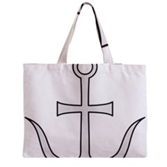 Anchored Cross Medium Tote Bag by abbeyz71