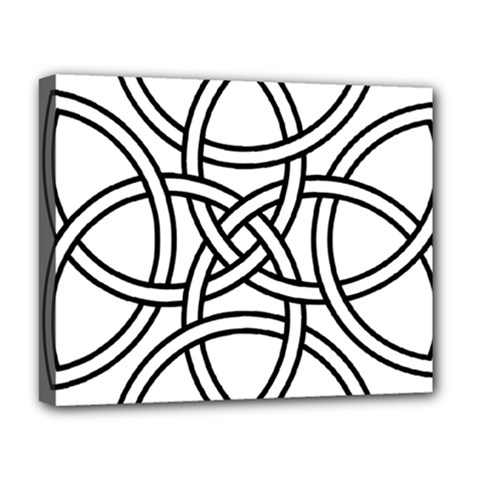 Carolingian Cross Deluxe Canvas 20  X 16   by abbeyz71