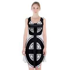 Celtic Cross Racerback Midi Dress by abbeyz71