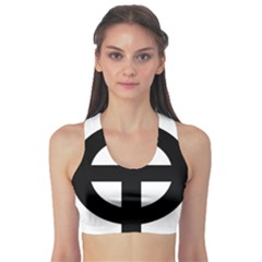 Celtic Cross Sports Bra by abbeyz71