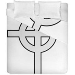Celtic Cross  Duvet Cover Double Side (california King Size) by abbeyz71