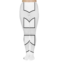 Celtic Cross  Women s Tights by abbeyz71