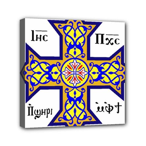 Coptic Cross Mini Canvas 6  X 6  by abbeyz71
