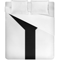 Forked Cross Duvet Cover (california King Size) by abbeyz71