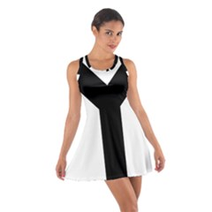 Forked Cross Cotton Racerback Dress by abbeyz71
