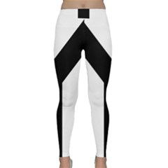 Forked Cross Classic Yoga Leggings by abbeyz71